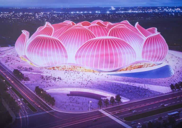 В Китае построят крупнейший в мире стадион