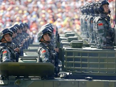 Китай увеличит военный бюджет на 6,6%