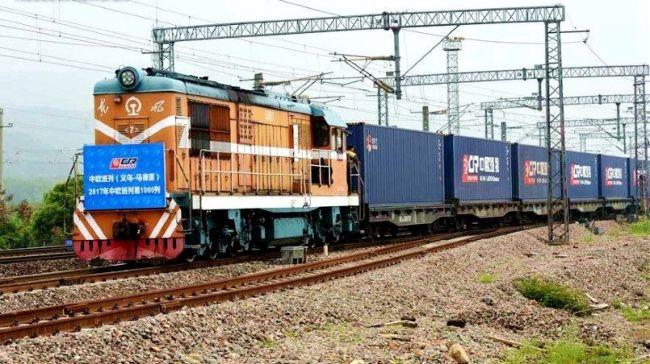Китай запустил новый железнодорожный маршрут в Европу