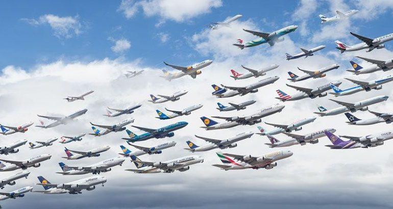 Китай восстановил объем авиаперевозок на 60%