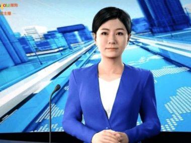 В китайском новостном агентстве работает виртуальный репортер