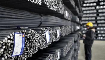 В Китае падают запасы стальных изделий