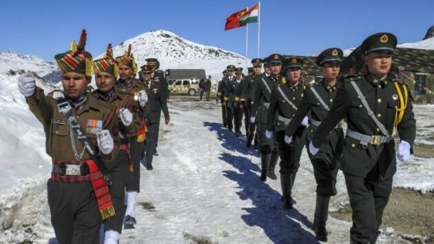 На границе Китая и Индии подралось 150 военнослужащих