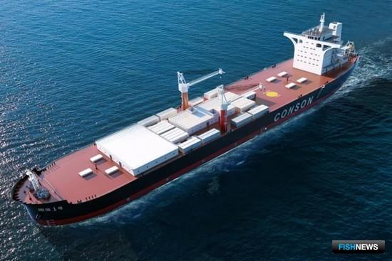 В Китае строят гигантское судно-акваферму