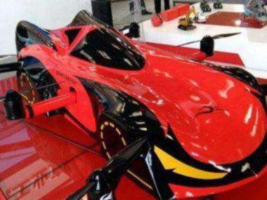 В Китае создали беспилотный летающий автомобиль