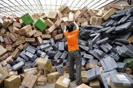 Рынок почтовых отправлений Китая вырос в мае на 40%