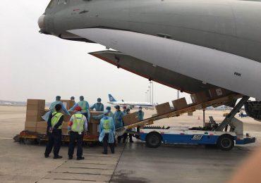 Посольство Украины в КНР отправило в Киев партию медпомощи от китайских компаний