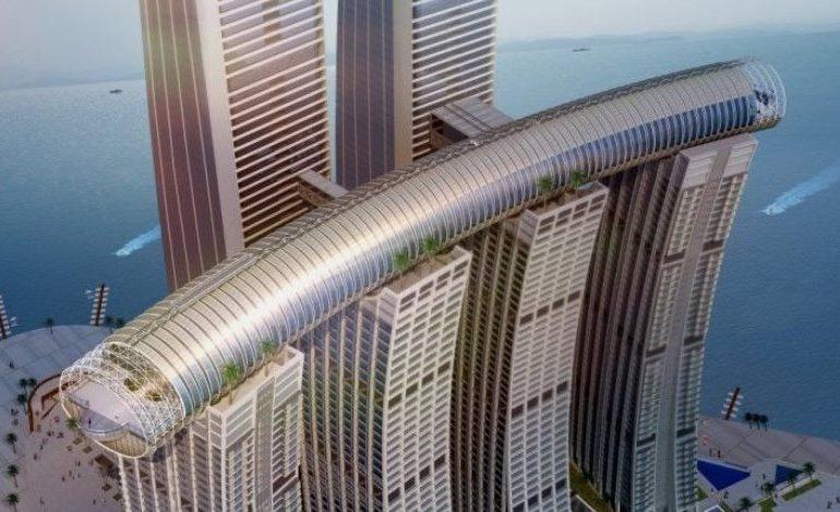 В Китае открылся самый высокий в мире горизонтальный небоскреб