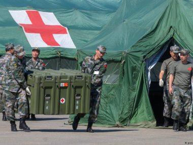 В китайском мегаполисе ввели военное положение из-за вспышки COVID