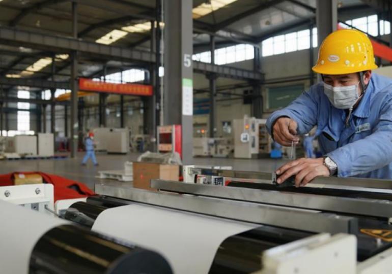 Промпроизводство в Китае в мае выросло на 4,4%