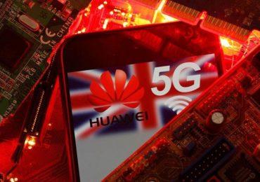 Власти Великобритании начнут отказываться от участия китайской компании Huawei в сетях 5G