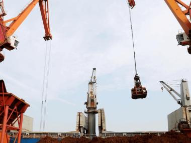 В Китае снижаются цены на железную руду на фоне роста поставок сырья