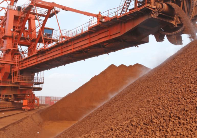 Цены на железную руду в Китае снизились на фоне роста запасов сырья