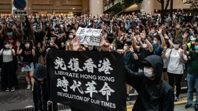 Британия приостановила договор об экстрадиции с Гонконгом