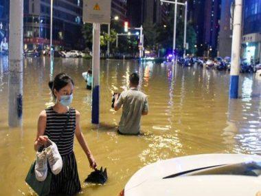 В  Китае объявлен высший уровень реагирования на наводнения