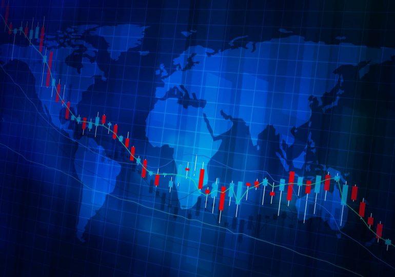 Мировые финансовые рынки показали падение на фоне роста экономики Китая