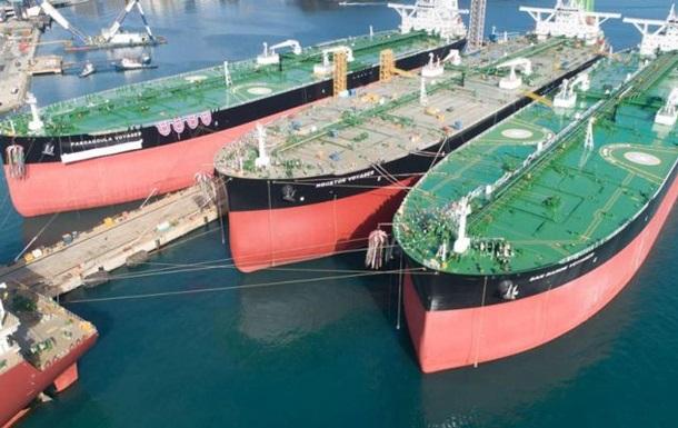 Китай закупил рекордные 37 млн баррелей нефти у США