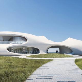 В Китае построят «дырявую» библиотеку
