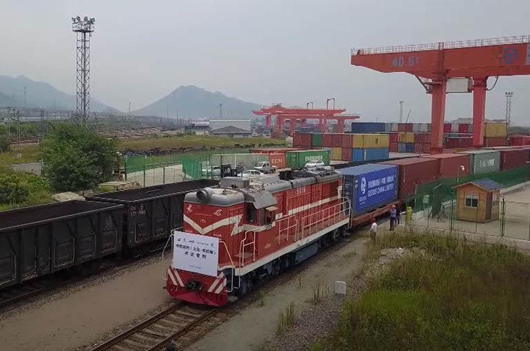 Количество контейнерных поездов Китай – Европа достигло рекордного уровня