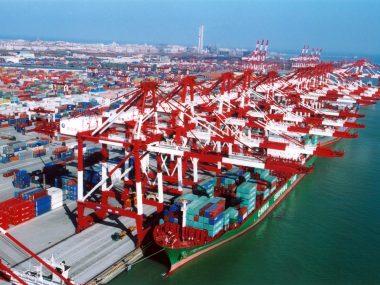 До конца августа порты Китая вернутся к нормальной работе