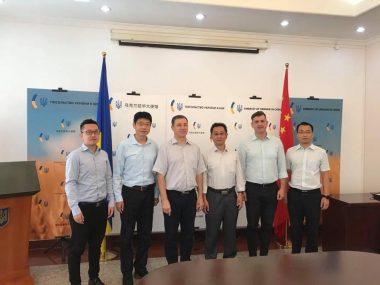 Украинские дипломаты в КНР обсудили перспективы участия CZEC в строительстве энергоблоков Хмельницкой АЭС