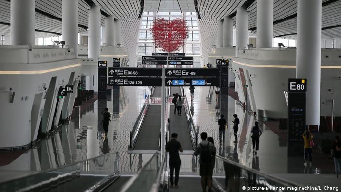 Аэропорт Пекина возобновил работу после полугодичного перерыва