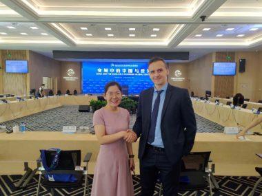 Украинские дипломаты поучаствовали в заседании Китайского центра развития