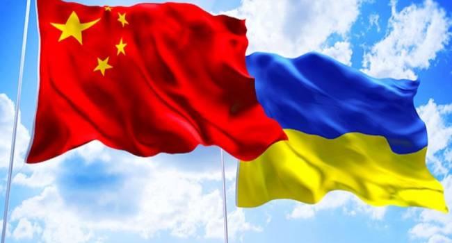 Китай и Украина планируют наращивать сотрудничество в политической и экономической плоскости