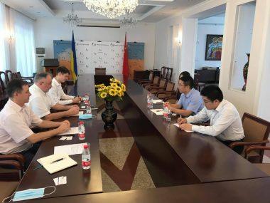Посол Украны в КНР обсудил с CRCC развитие морской инфраструктуры в Укране