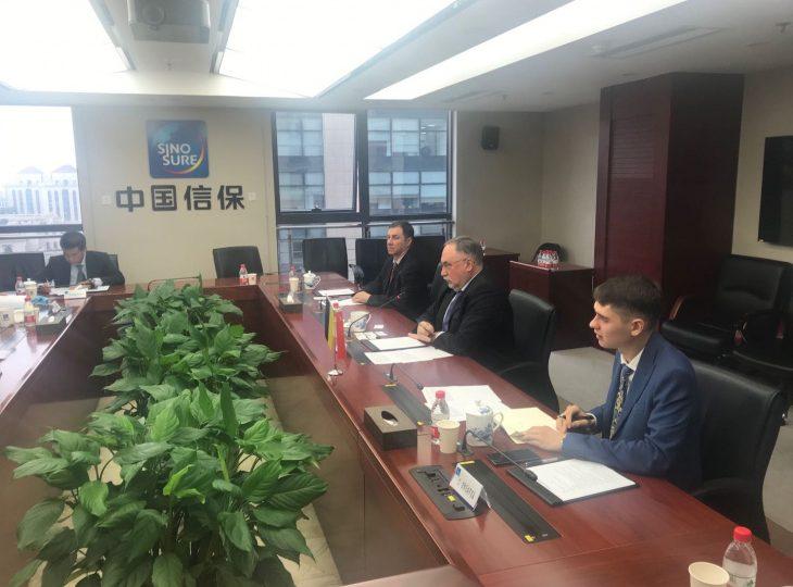 Посол Камышев обсудил преспективы кредитования инфраструктурных проектов с Sinosure