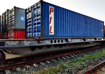 Контейнерные поезда в Китай уходят из Украины пустыми и загружаются в России – перевозчик