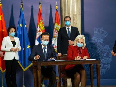 Китайская компания построит скоростную дорогу в Сербии