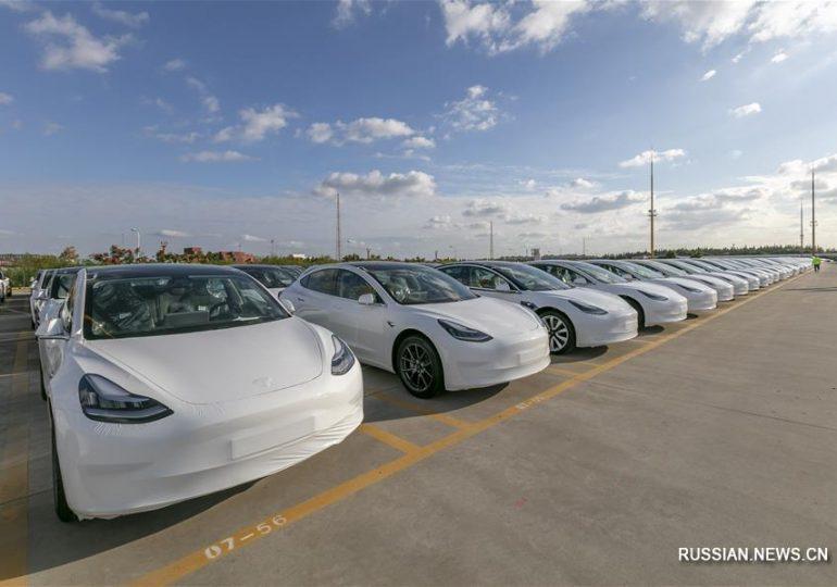 Автомобили Tesla китайской сборки будут поставляться в Европу