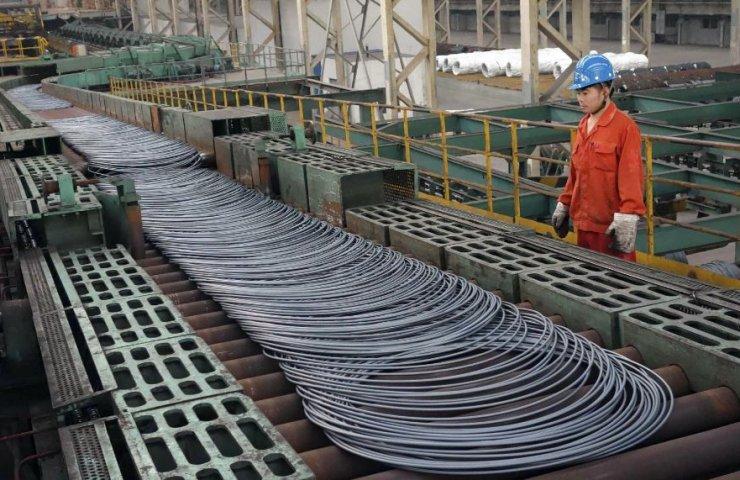 В Китае сократилась прибыль сталелитейных предприятий