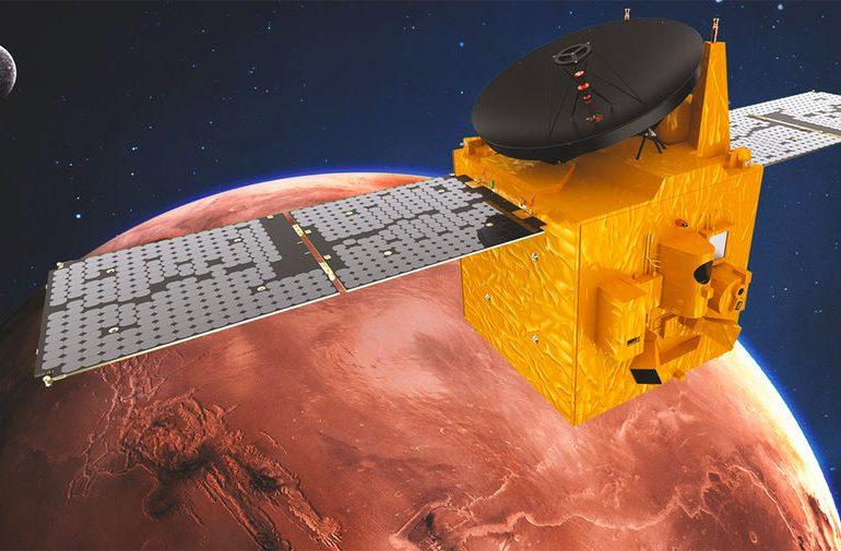 Китайская межпланетная станция Tianwen-1 планирует прибыть на Марс в мае 2022 года