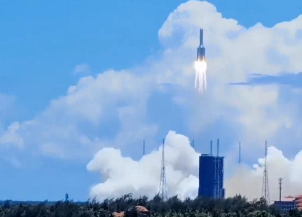 Китай опубликовал плановые координаты экспедиции марсохода, которая состоится весной 2021 года