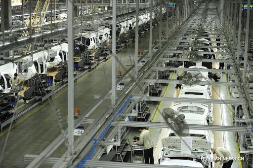 Объем промышленного производства Китая в третьем квартале вырос на 5,8%