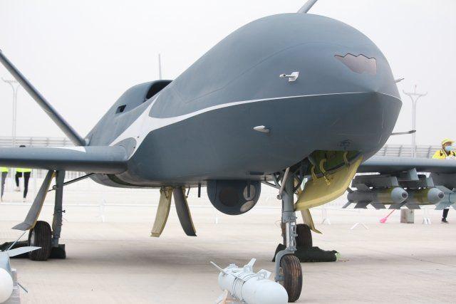 Китай представил новый беспилотный штурмовик Wing Loong-10 для воздушной разведки