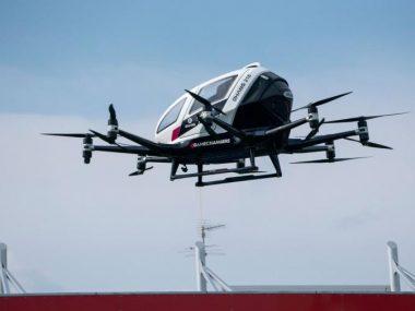 Китайская EHang будет испытывать свои аэротакси с полезной нагрузкой 260 кг в воздушном пространстве Австрии
