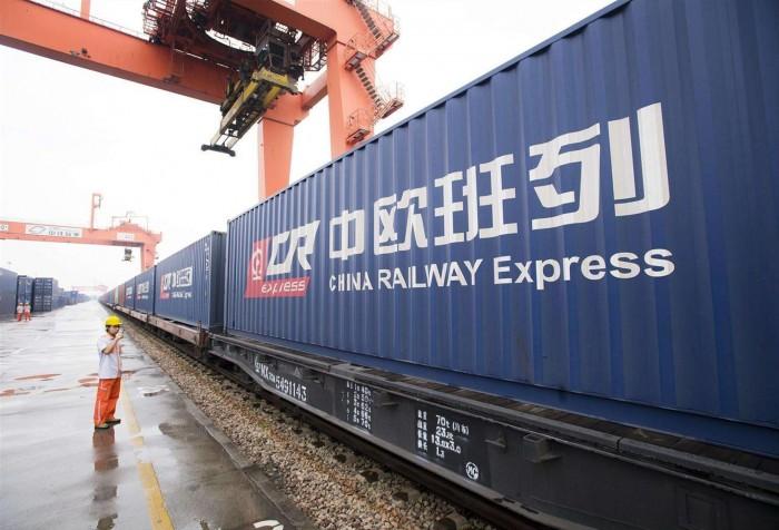 Из китайского Сианя в Осло впервые запустили контейнерный поезд
