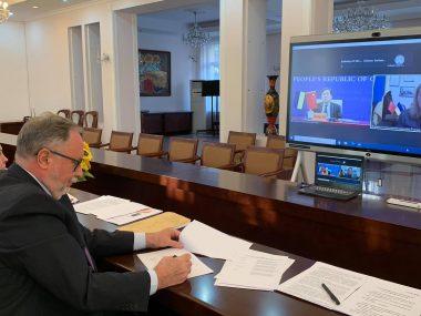 Прошло 5-тое заседание украинско-китайской Подкомиссии по вопросам культуры