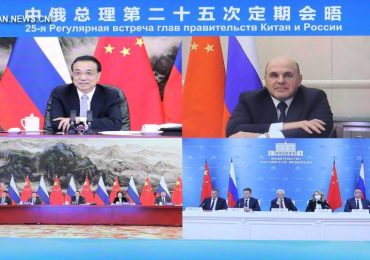 Премьер-министры Китая и России провели 25-ю встречу глав правительств
