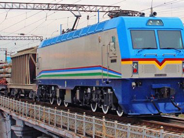 КНР доставила первую партию электровозов в Узбекистан