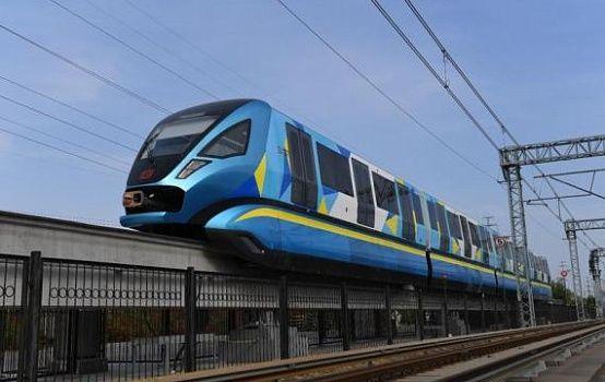 CRRC выпустила новый монорельсовый поезд