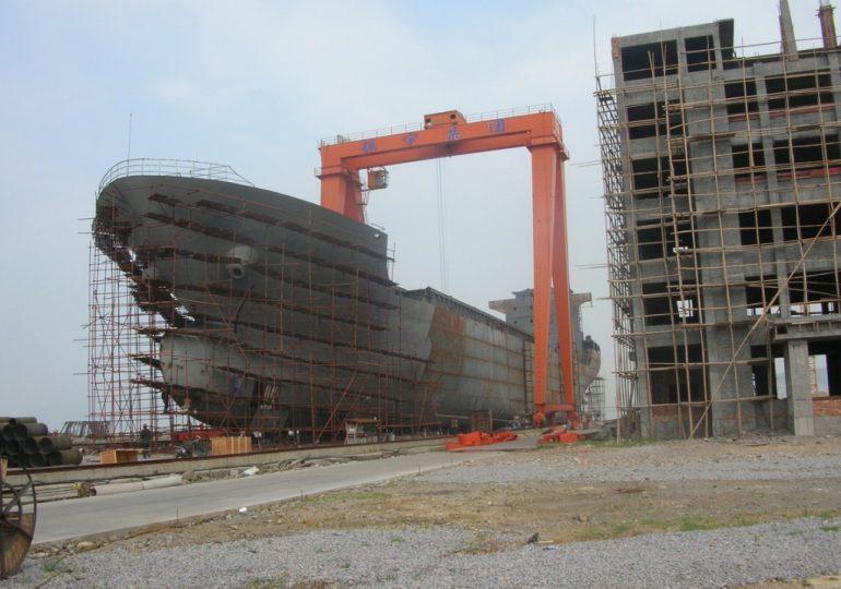Китайская судостроительная корпорация расширяет производство
