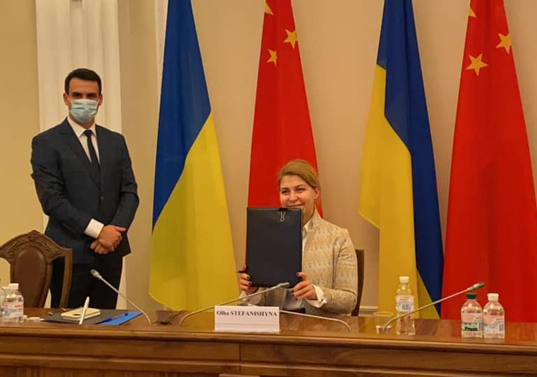 Украина и КНР договорились углублять сотрудничество в торговле, инфраструктуре и агросекторе – вице-премьер