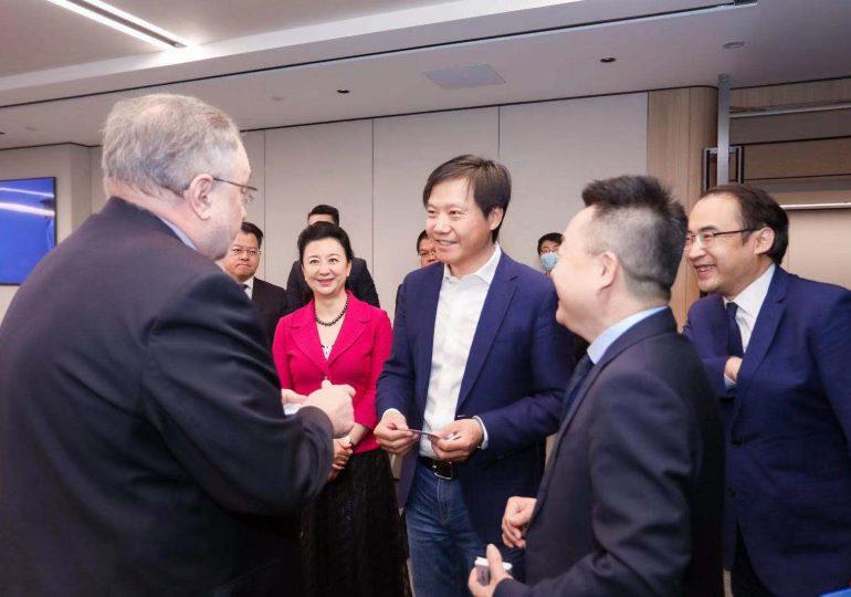 Камышев встретился с руководством компании Xiaomi