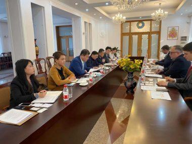 Камышев встретился с потенциальным инвестором в АПК Украины