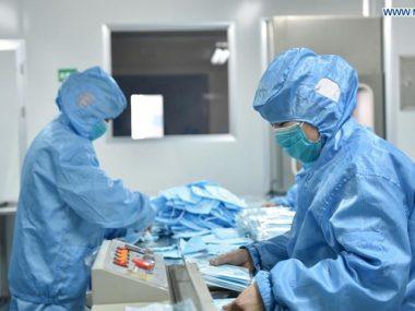 90% китайских заводов по производству масок закрылись