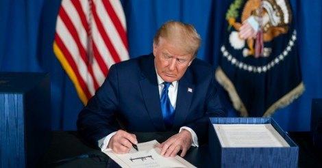 Дональд Трамп подписал указ, запрещающий финансовые операции с платежными приложениями КНР